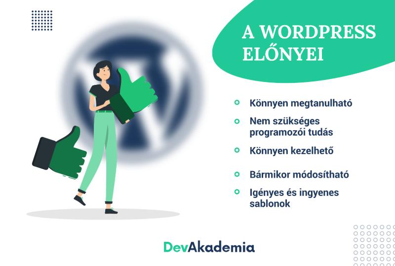 WordPress előnyei